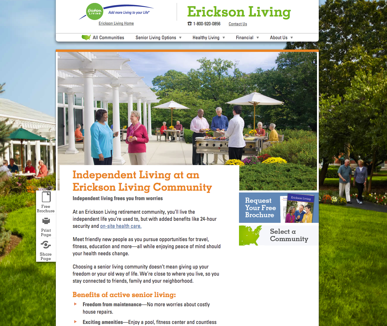 Erickson Living Site – WHO IS SPARK?